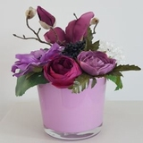 Decoratie  roze 20 cm